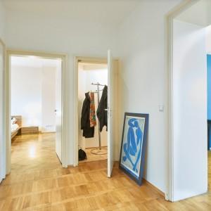 App501 Flur Garderobe Parkett